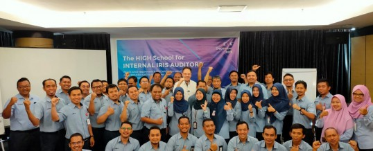06 December 2019: Training of 40 Internal IRIS Auditors in Madiun (Indonesia)